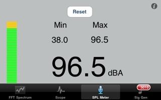SPL Sound pressure meter