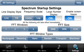 Audio Kit Settings Screen Shot 1.4