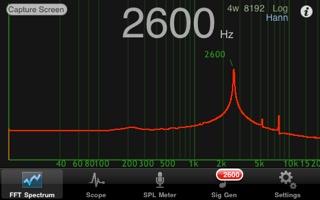 Audio Kit Spectrum Screen Shot 1.4