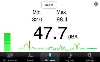 Audio Kit 1.4 SPL Meter Screen Shot